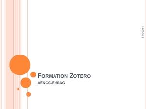Formation Zotero - cliquez sur l'image