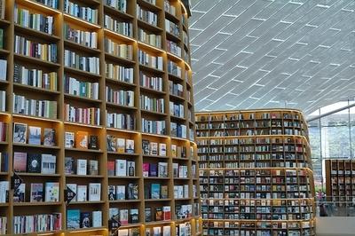 bibliothèque en Coree