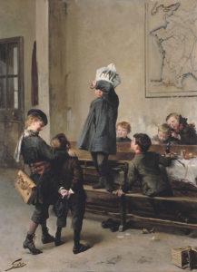 Jean Geoffroy, un futur savant, 1880