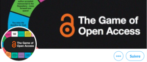 @GameOfOpenAcce1 A board game which guides researchers through the key concepts and tools to meet #OpenAccess mandates. Developed by @hudlib  Download CC-BY-NC